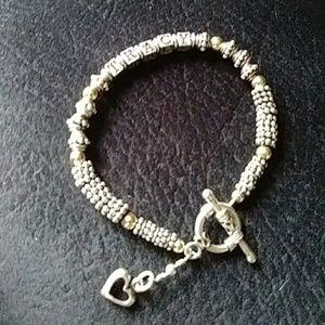 Jewelry - Silver 925 TRACY (name) Logo Bracelet!!!